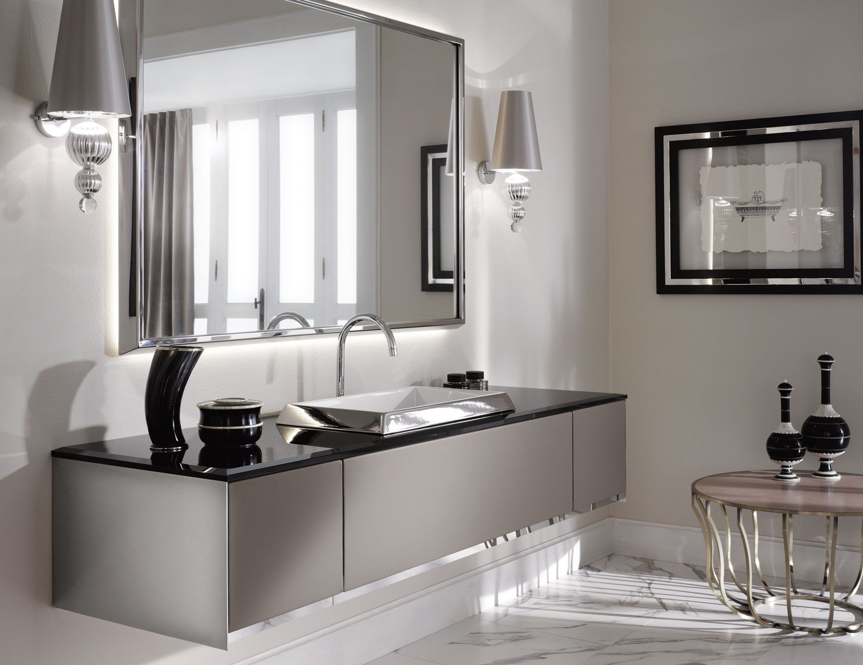 Luxury Bathroom Vanity From Nella Trevina Decoist