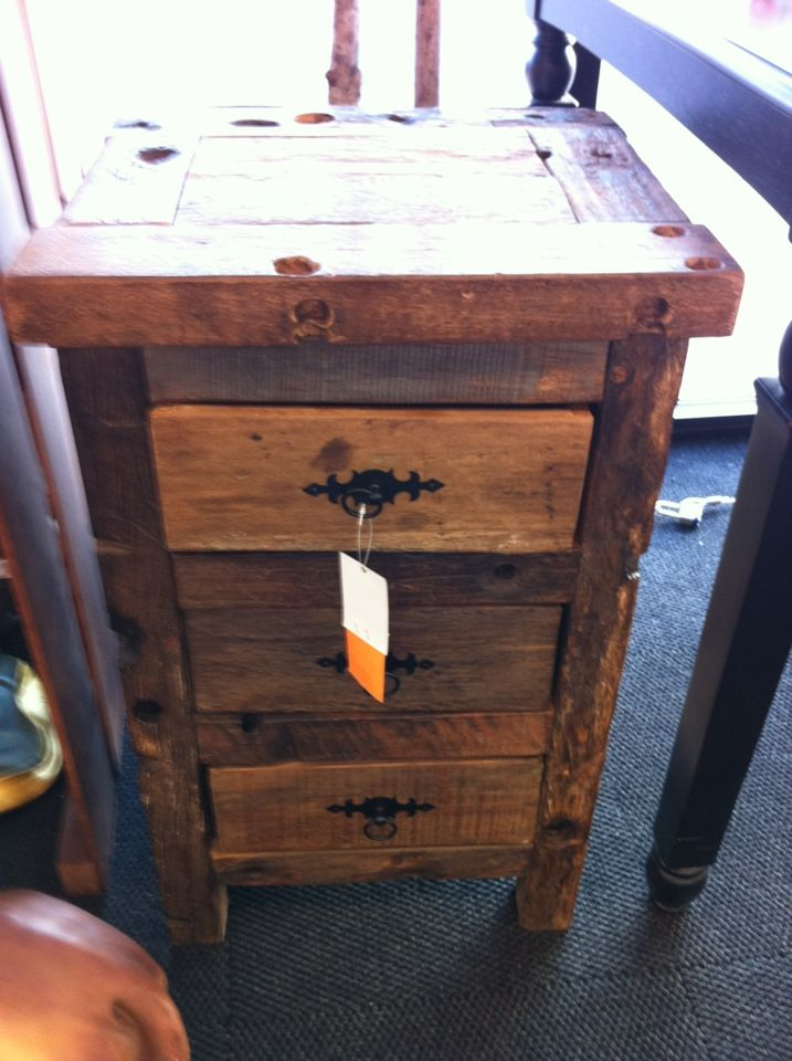 Rustic End Table At Hobby Lobby Rustic End Tables Rustic Wood Wood