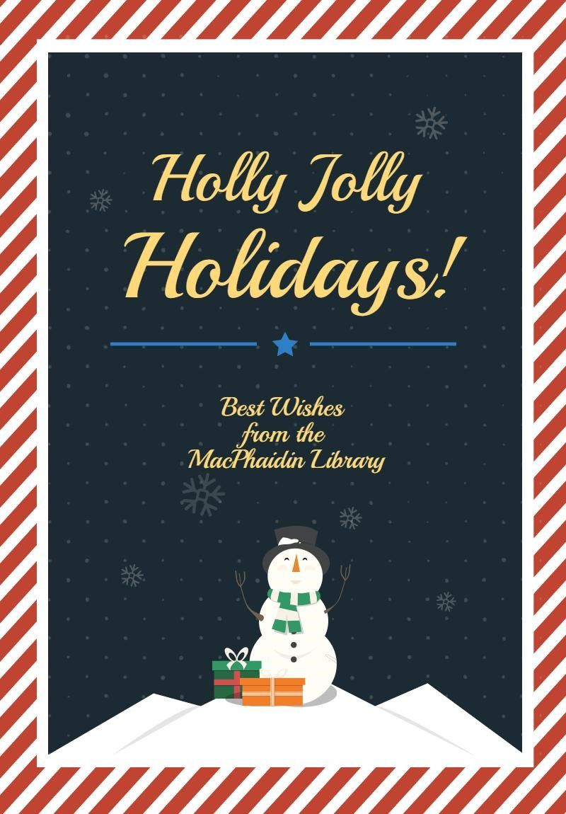 Pin by MacPhaidin Library on Holidays Christmas poster