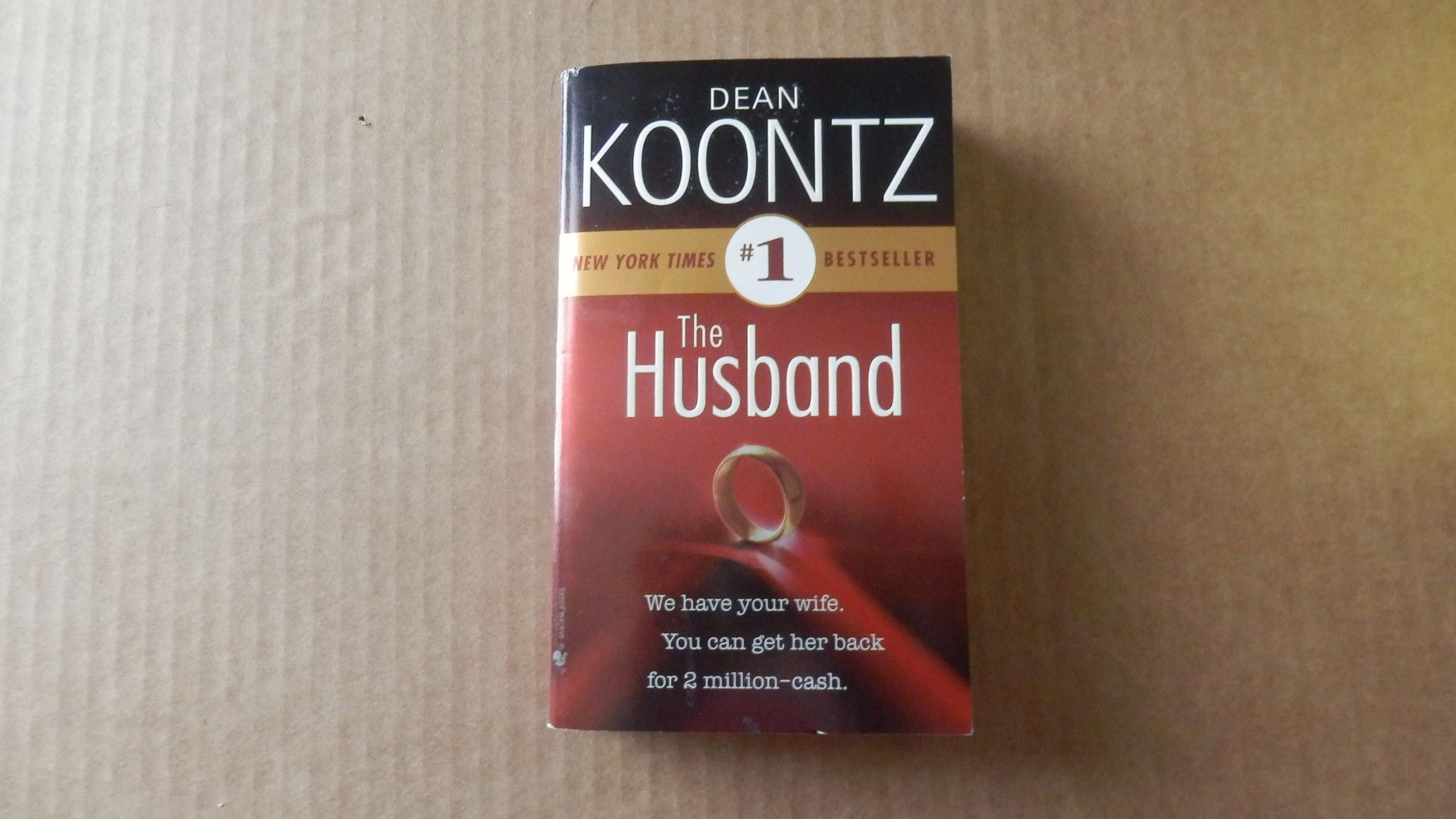 The Husband by Dean Koontz ~ Paperback ~ Excellent condition ~ Free shipping