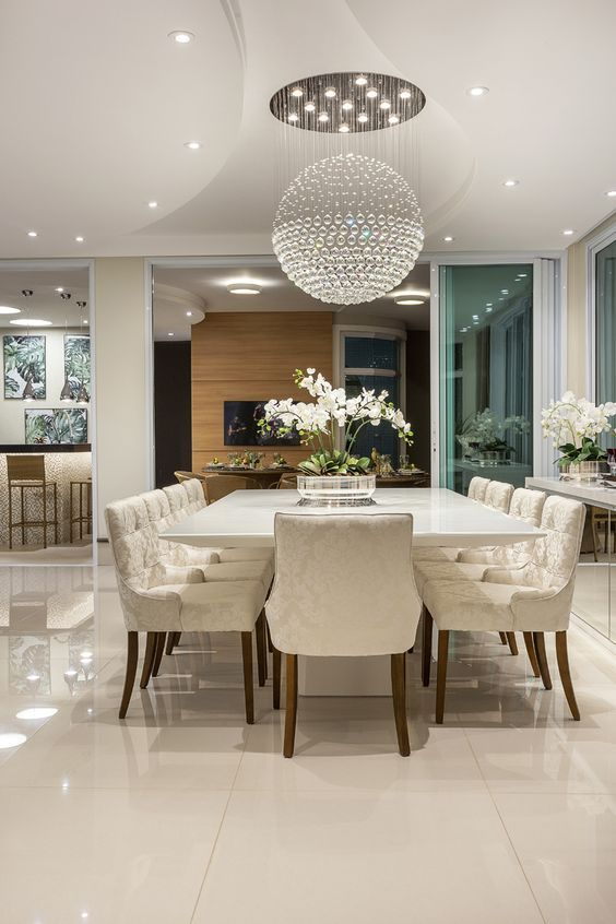 Luxury Dining Room Decor Inspirations - Interior Design Ideas
