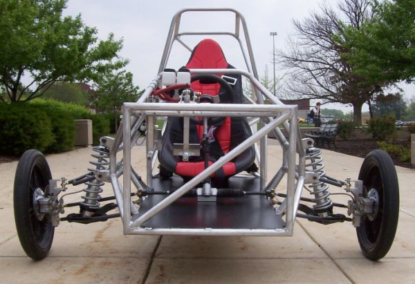 university students build a robust solar race car chassis