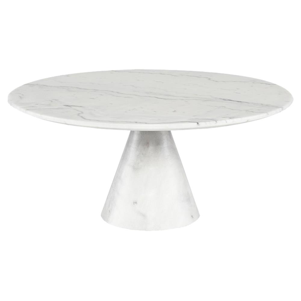 Craig Modern Classic White Vein Marble Round Round Coffee Table Large In 2021 Coffee Table Size Coffee Table White Round Coffee Table [ 1000 x 1000 Pixel ]
