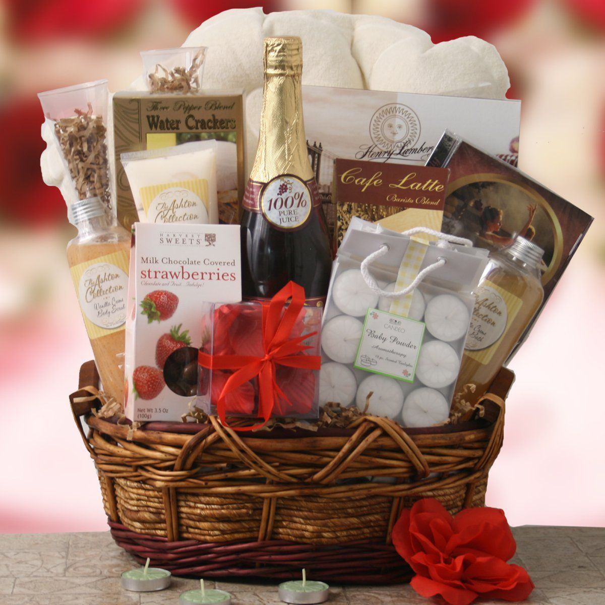 Everlasting Love Gift Basket Www Giftbaskets Com Wedding Gift Baskets Honeymoon Gift Baskets Honeymoon Gifts