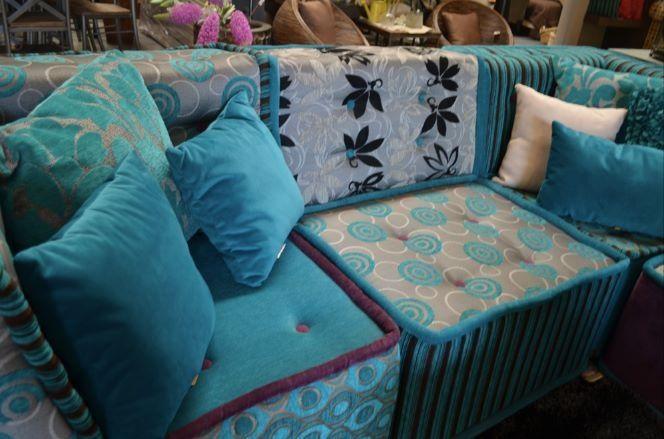 Salas vintage de un increíble azul relajante Salas Pinterest - salas vintage