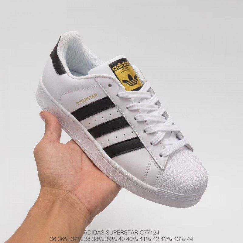 adidas superstar dames zwart met wit