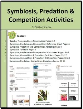 Activities That Encourage Student Engagement While Learning About Symbiosis Predation And Competition Objective Student Encouragement Symbiosis Activities