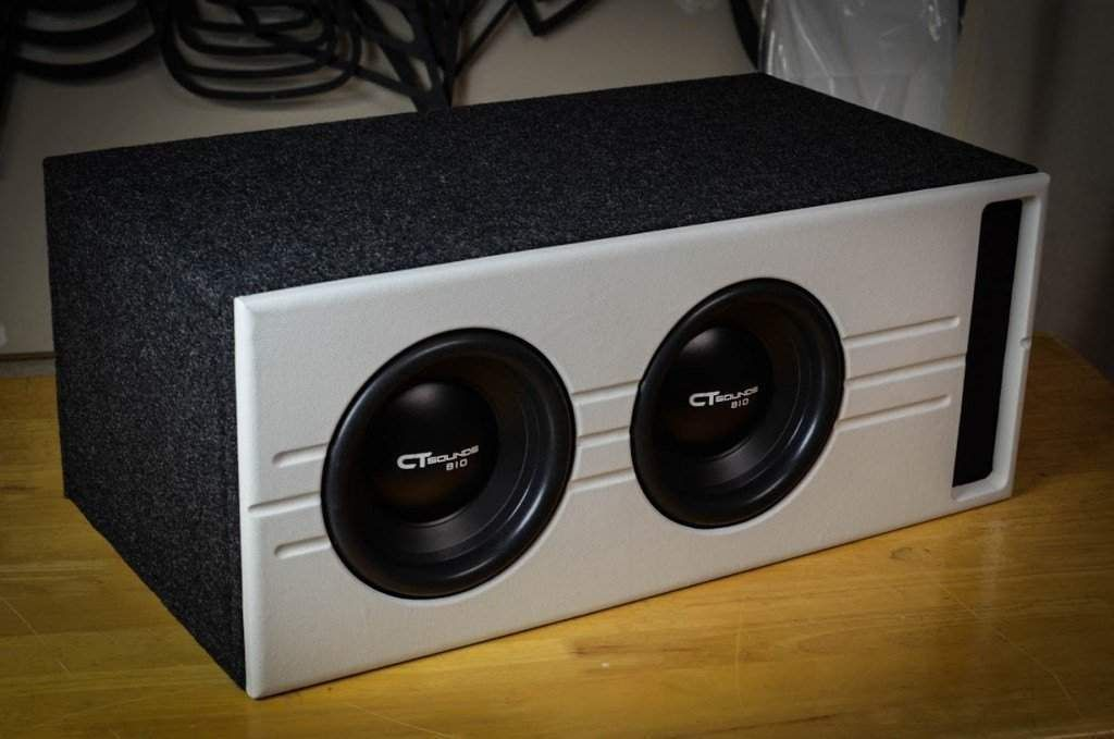 Dual 10 Inch Vented Subwoofer Box Design Subwoofer Box Design Subwoofer Box Box Design
