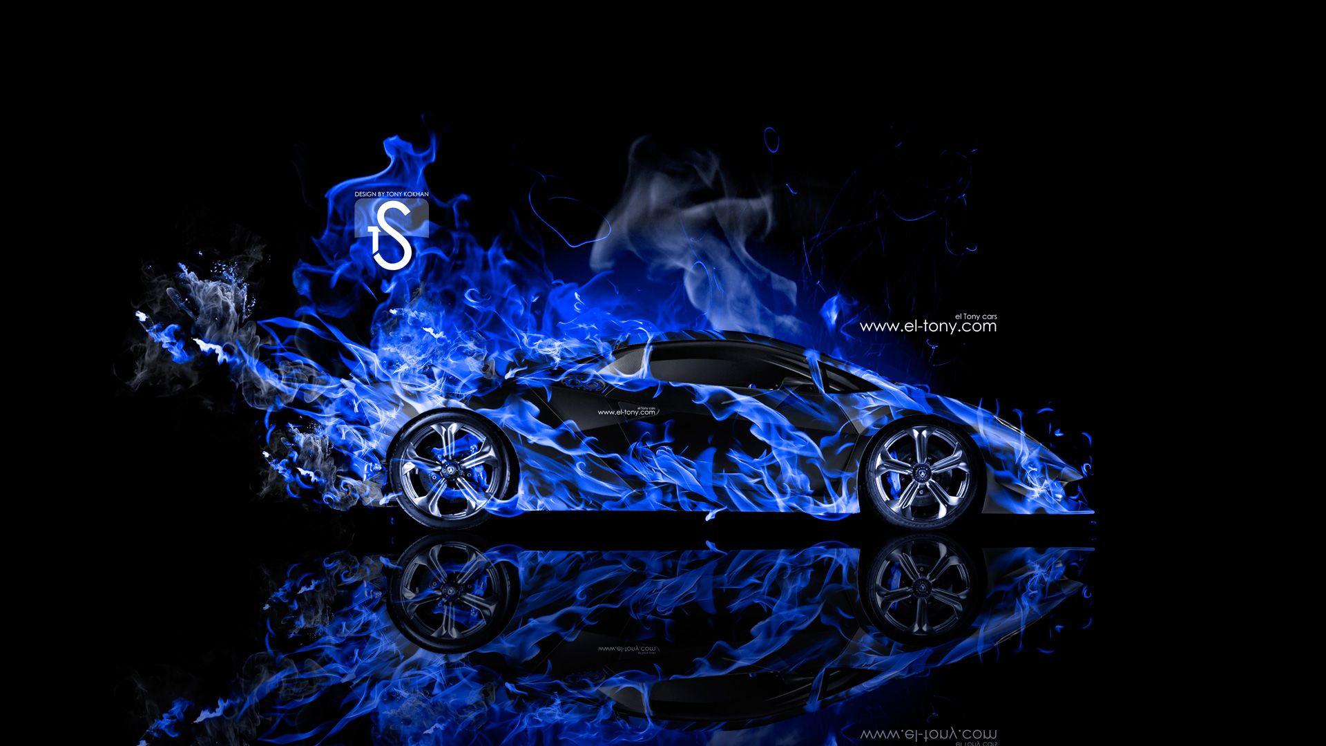 Black And Blue Lamborghini Wallpaper 1 Free Hd Wallpaper