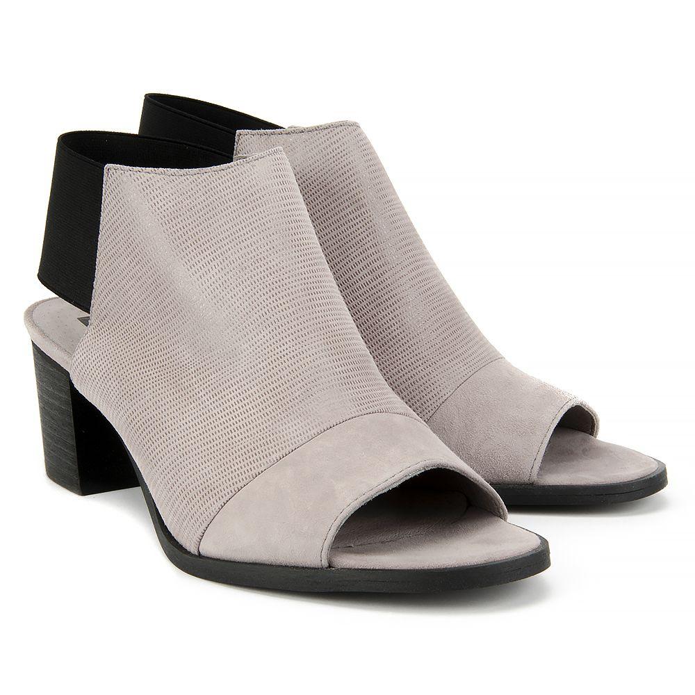 Sandaly Nessi 80706 Szary Lizaro Szary 19 Sandaly Na Obcasie Sandaly Buty Damskie Filippo Pl Boots Heels Heeled Mules
