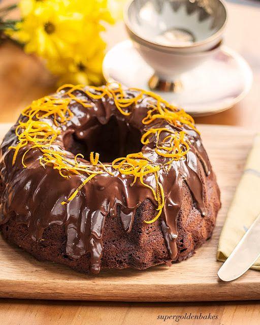 supergolden bakes: Sinful chocolate and orange bundt cake