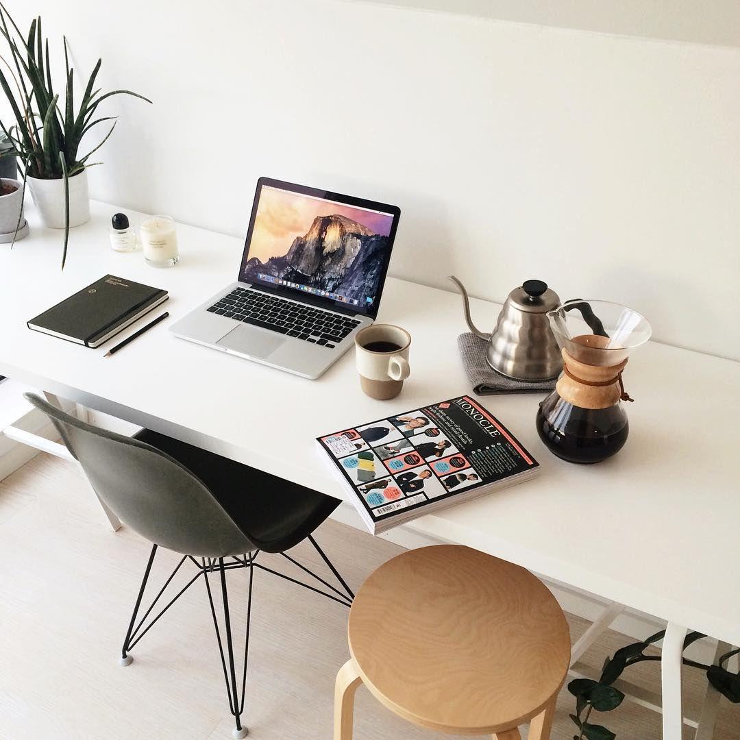 Luxury Minimalist Office Desk