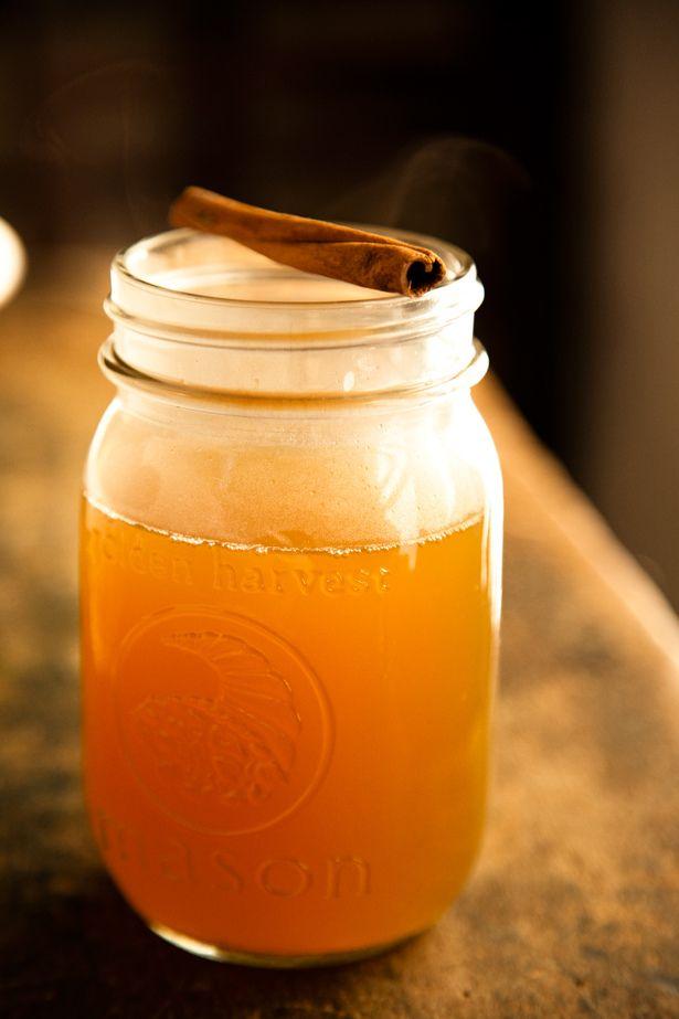 Hot Apple  Cider #recipes #beverages