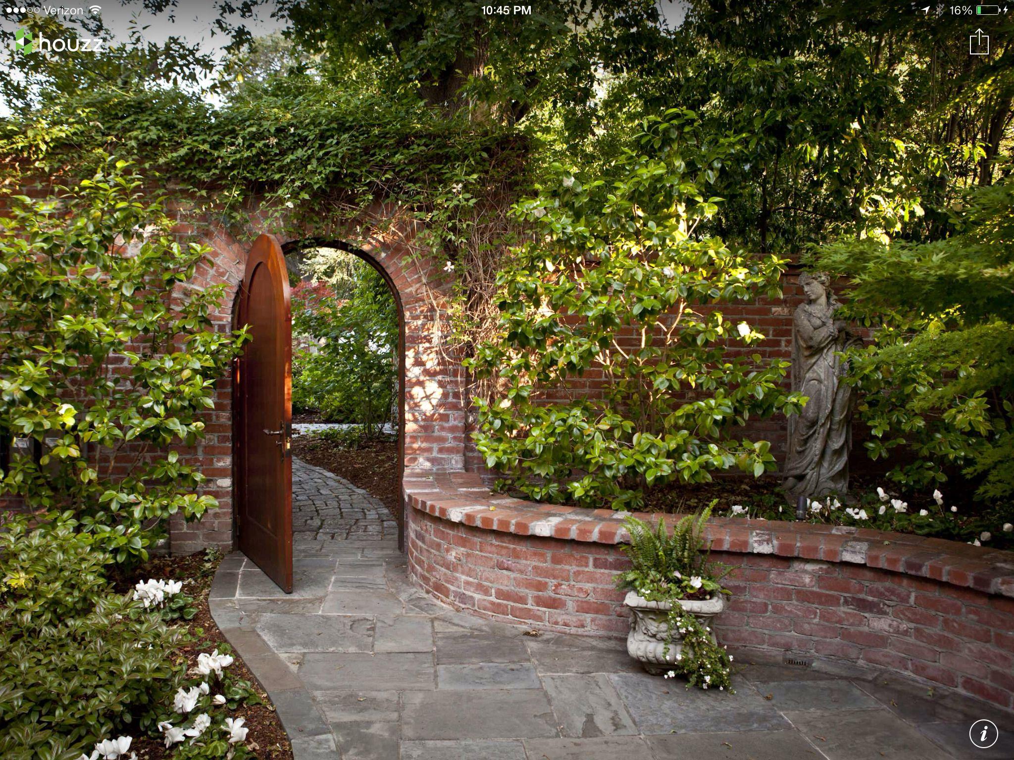 Brick Garden Wall | Landscape | Pinterest | Bricks, Gardens and Walls