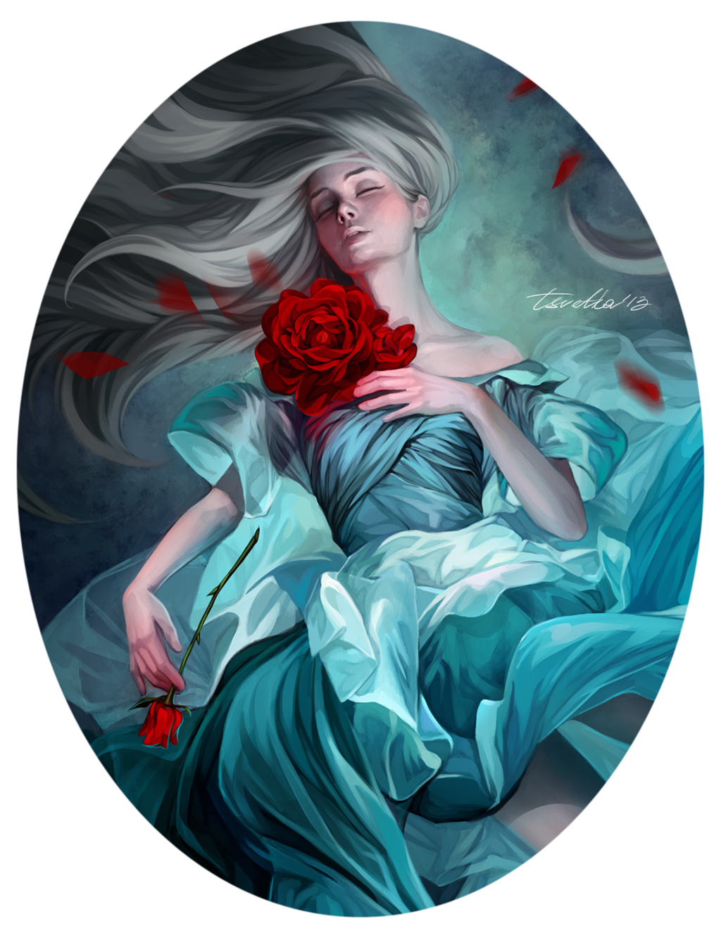 Sleep Close Up Realistic Paintings Artist Art Inspiration