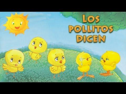 ▶ Los pollitos dicen Pio Pio Pio (canciones y rondas infantiles) - YouTube