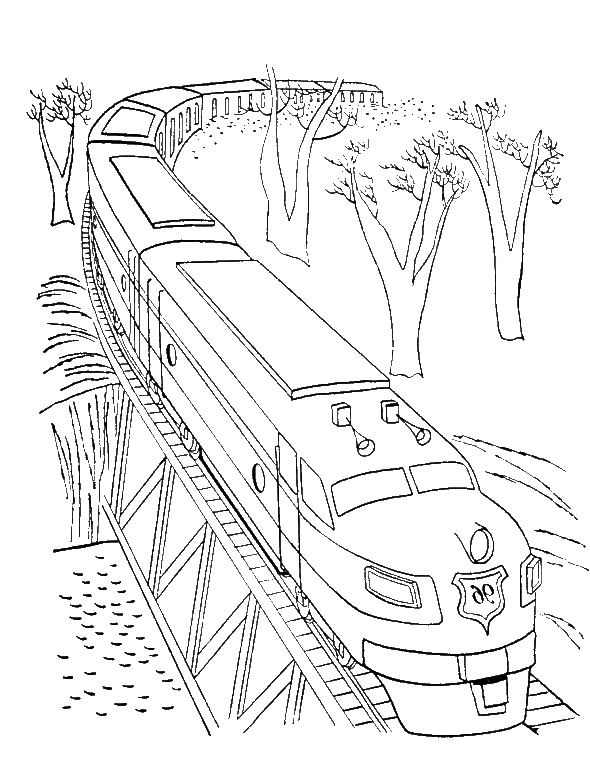 Ikidsdrawing Com Train Illustration Coloring Pages Coloring Pages For Kids