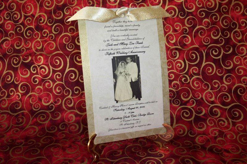 Th wedding anniversary event planning wedding