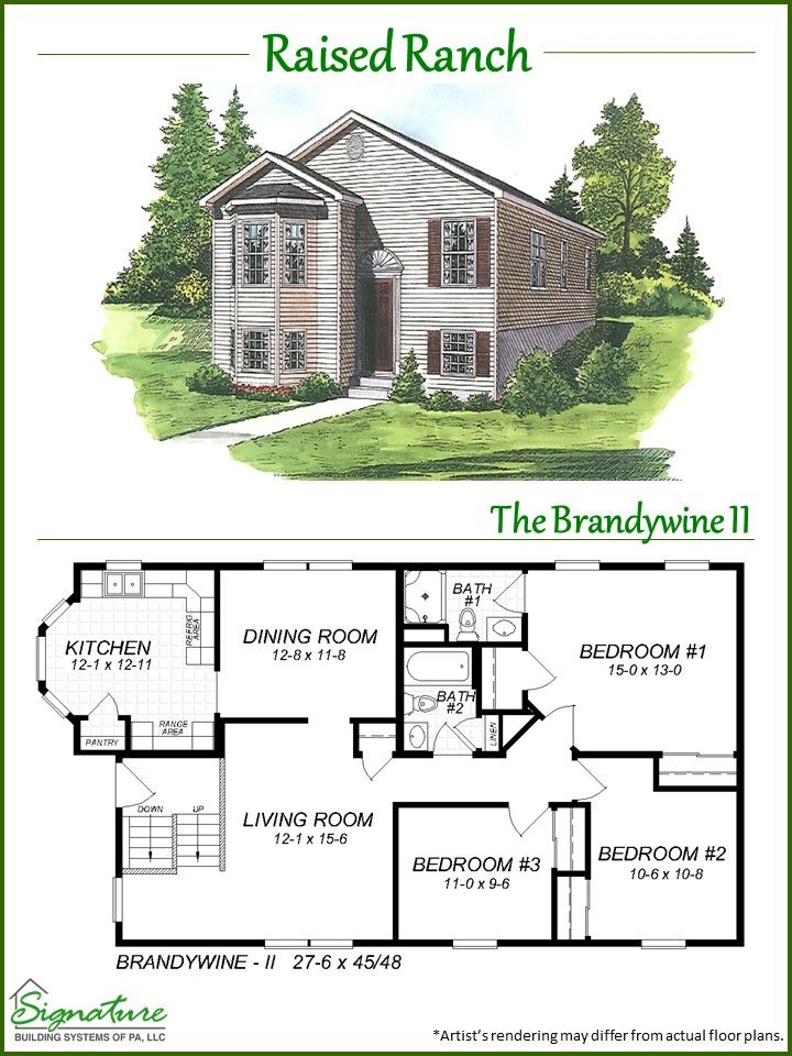 Raised Ranch Ranch House Designs Ranch House Plans Ranch House