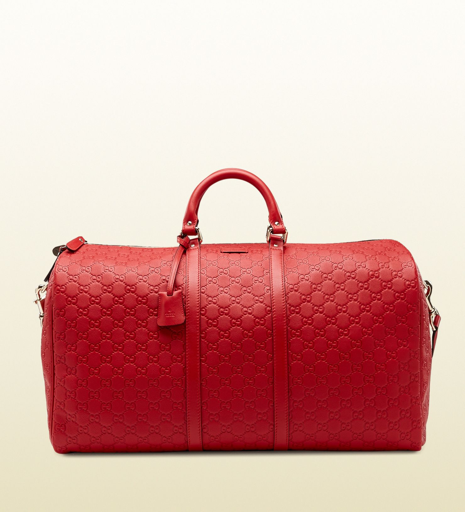 0ce47d69920f Gucci red guccissima leather carry-on duffel bag | Bag Lady in 2019 ...