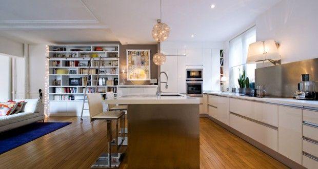 Aménager une cuisine ouverte sur le salon Maison et déco Cuisine