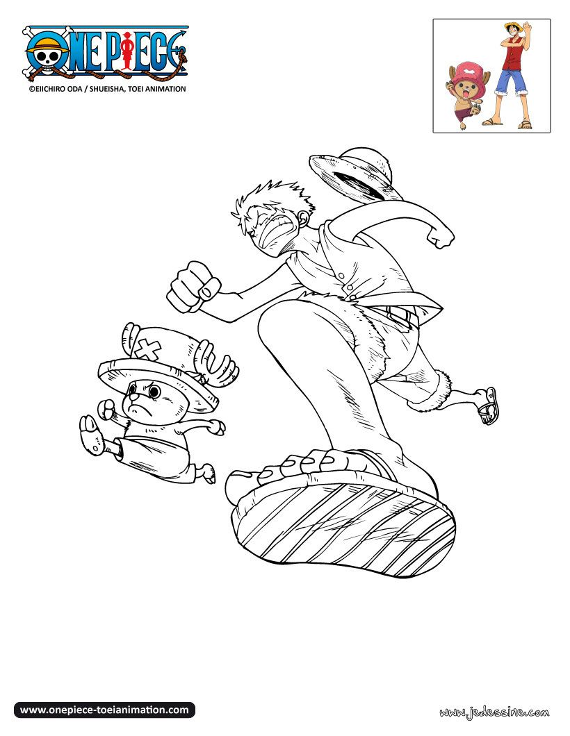 Coloriage One Piece Color One Piece Coloring Pages