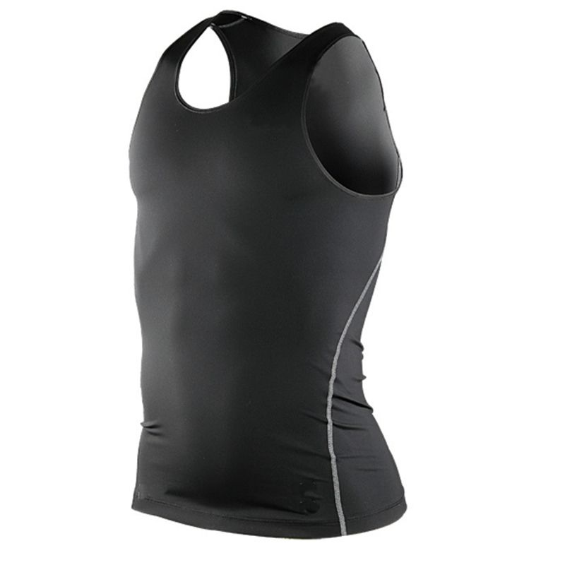 Men S Sleeveless Under Base Layer Body Compression Casual Sports Running Tank Tops Shirts Tees Tops Quick D Mens Vest Tops Workout Tank Tops Layering Tank Tops
