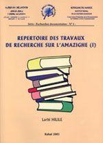 Repertoire des travaux de recherche sur l'amazighe (1)