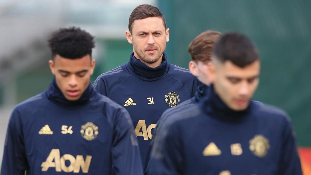 Gelandang Manchester United Nemanja Matic Meminta Timnya