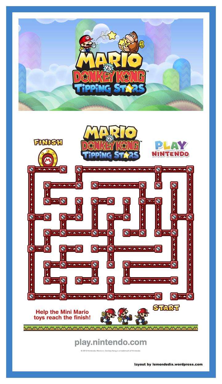 Mario Maze Super Mario Birthday Party Super Mario Bros Birthday Party Mario Birthday Party