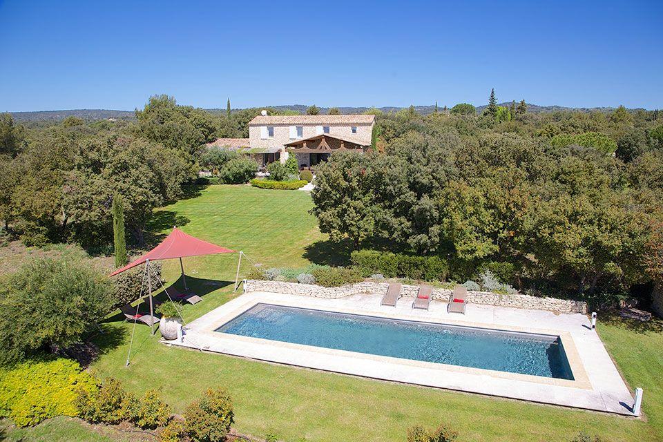 Location maison 4 chambres situ e gordes piscine - Location maison avec piscine luberon ...
