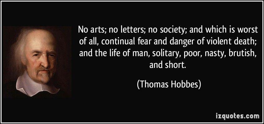 hobbes human nature