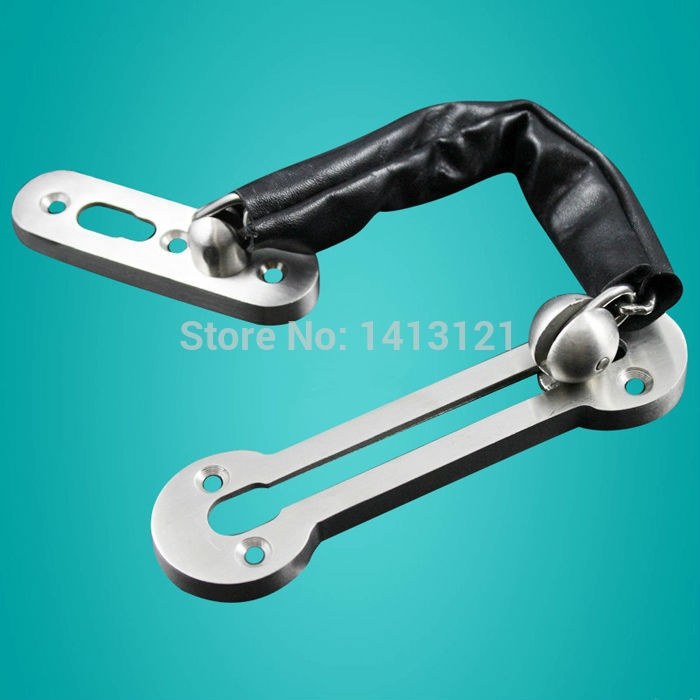 26.00$  Know more - http://aihnh.worlditems.win/all/product.php?id=32388823534 - free shipping 304 stainless steel Anti-theft deduction  Security chain hotel home door bolt lock household hardware part latch
