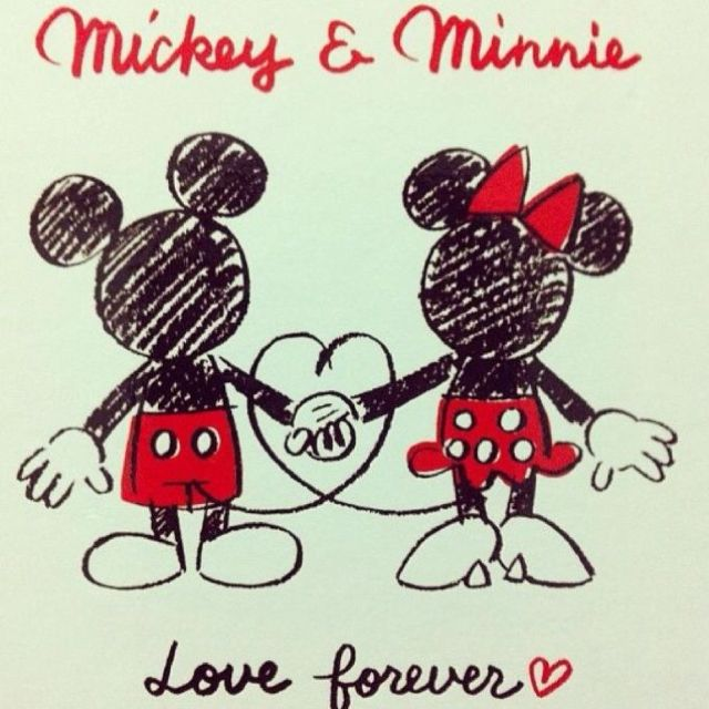 True love in 2019   Disney mickey mouse, Mickey mouse ...