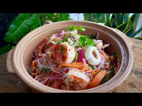 Kerabu Suhun Ala Thai - YouTube | Daging, Lobak, Ketumbar