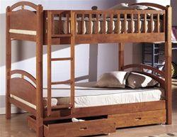 California Oak Wood Twin Bunk Bed Loft Bed Frame Queen Loft