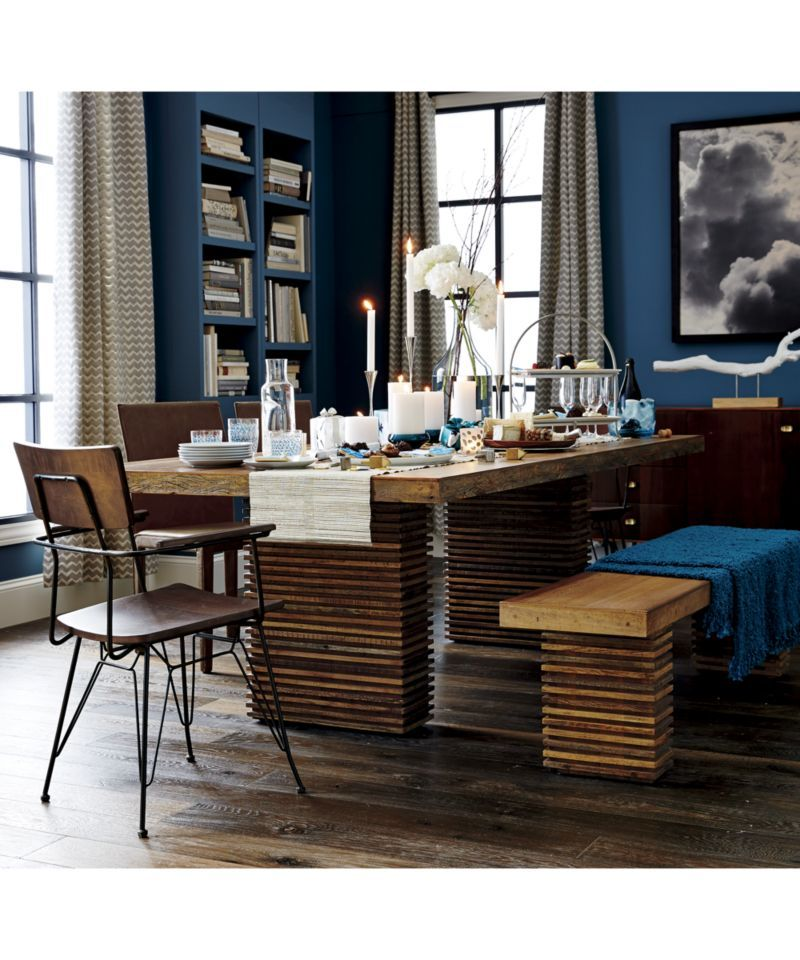 Paloma Ii Reclaimed Wood Dining Table Reclaimed Wood Dining