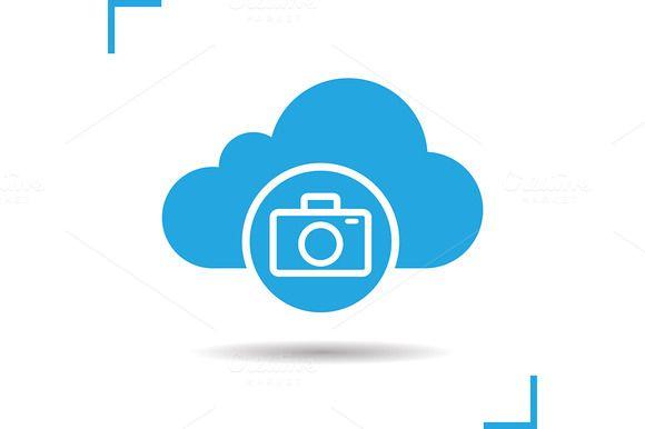 Photo hosting icon. Vector  @creativework247