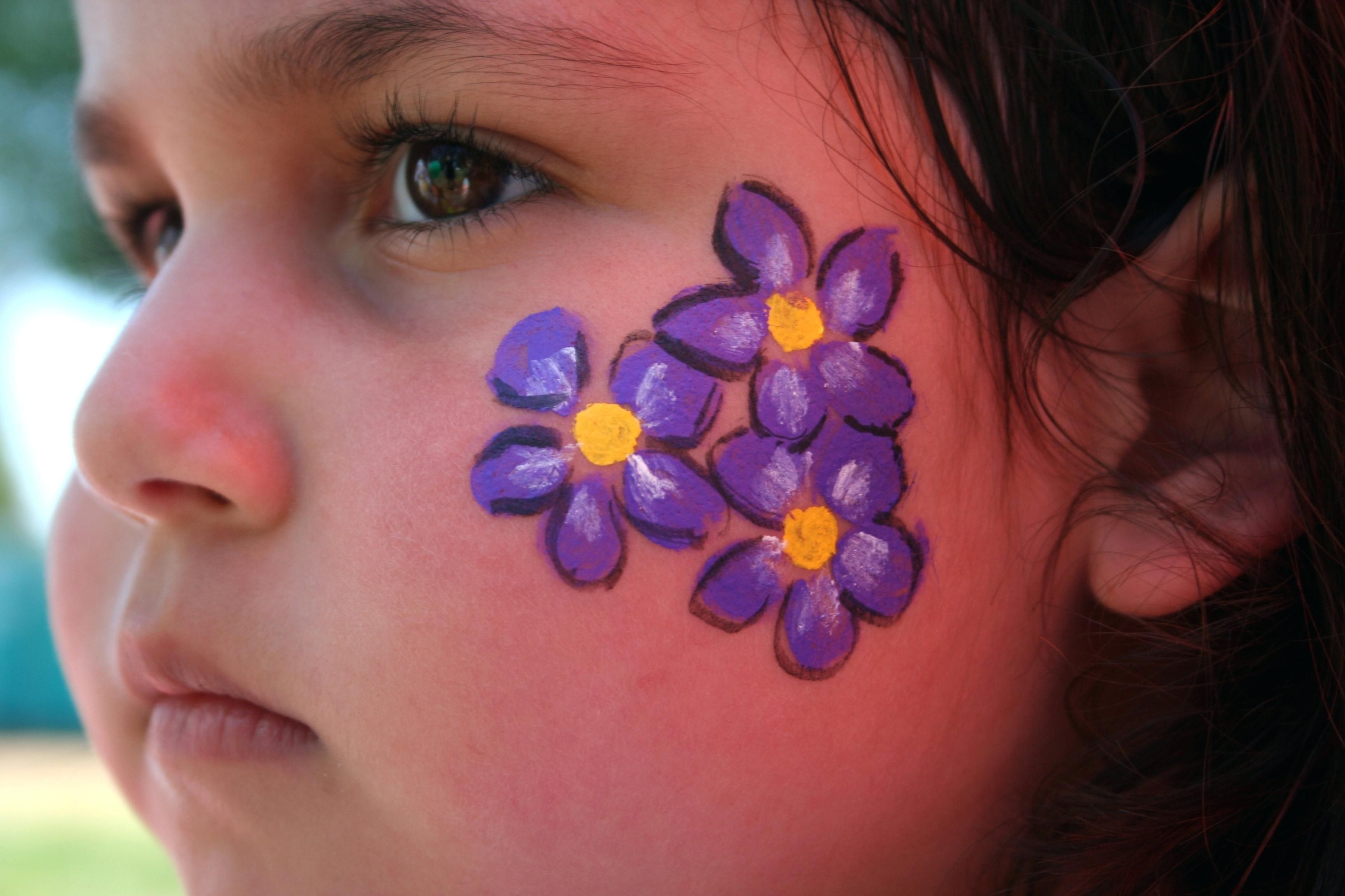 Image Result For Face Painting For Girls Simple Face