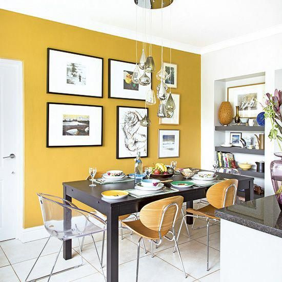 Want Kitchen Diner Decorating Ideas Take A Look At This Compact Scheme With