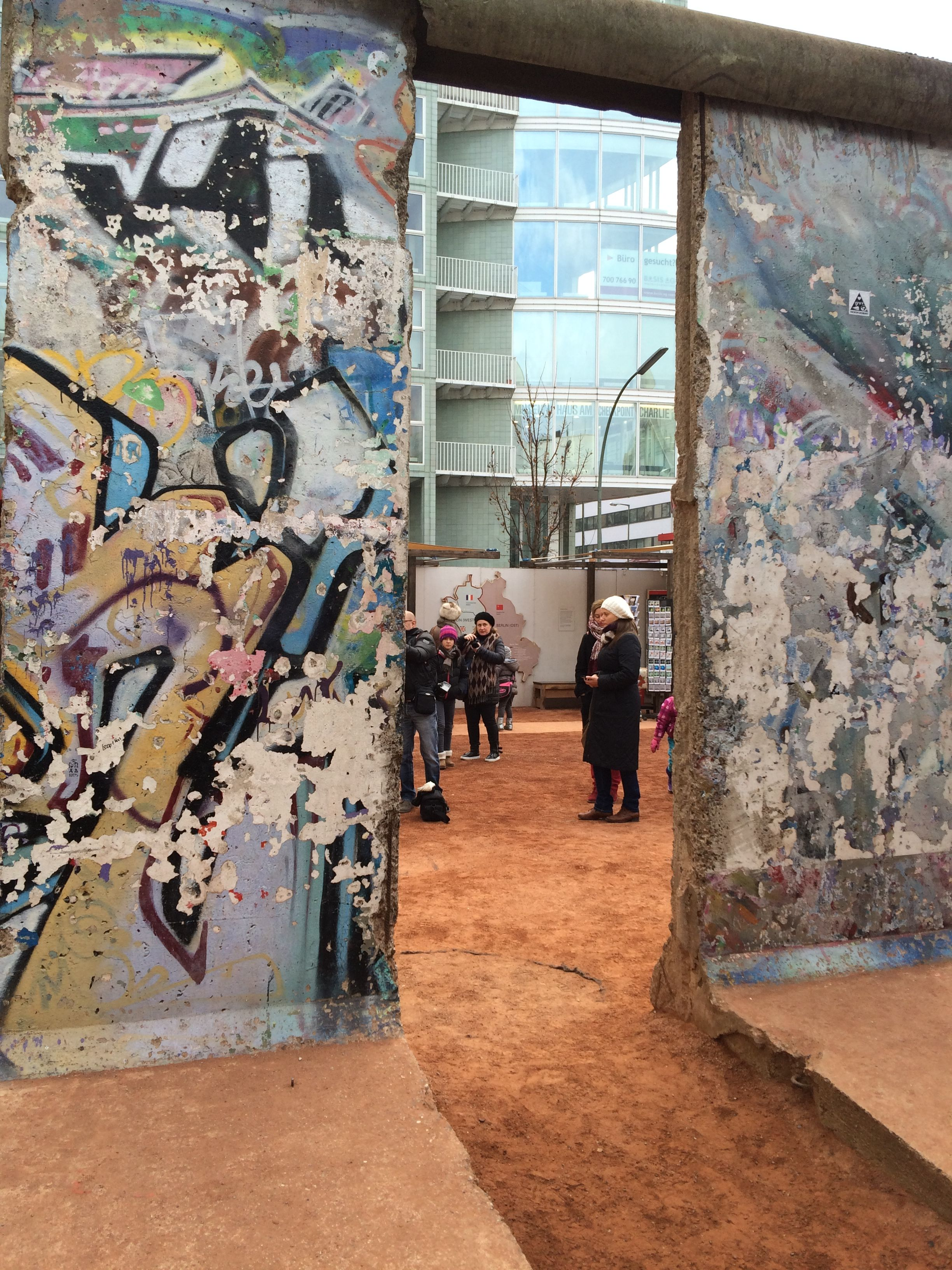 Parts of the Berlin Wall