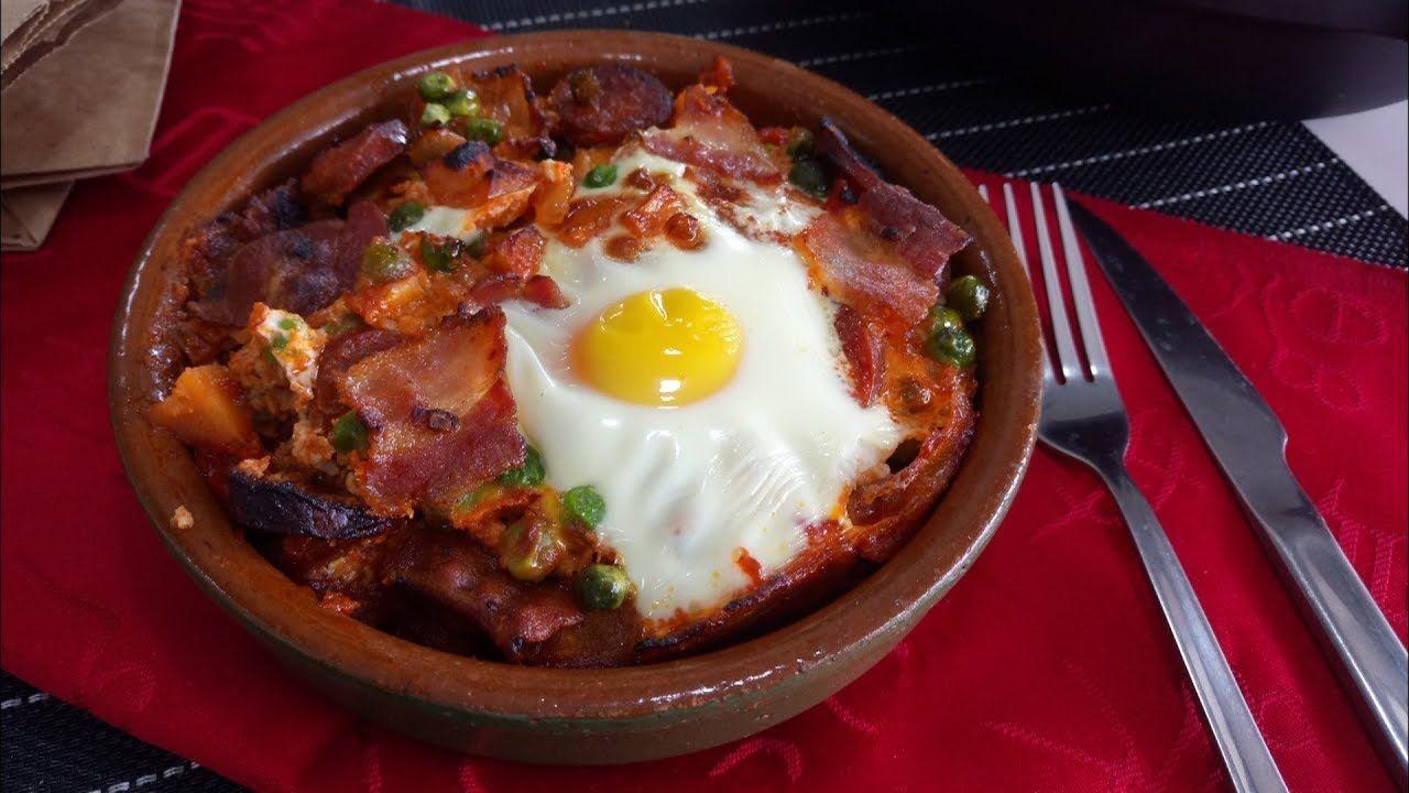 Huevos A La Flamenca Recetas De Comida Comida étnica Comida