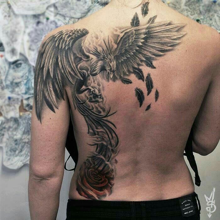 Resultado De Imagen Para Tatuajes Ave Fenix Para Hombres My Tattoo