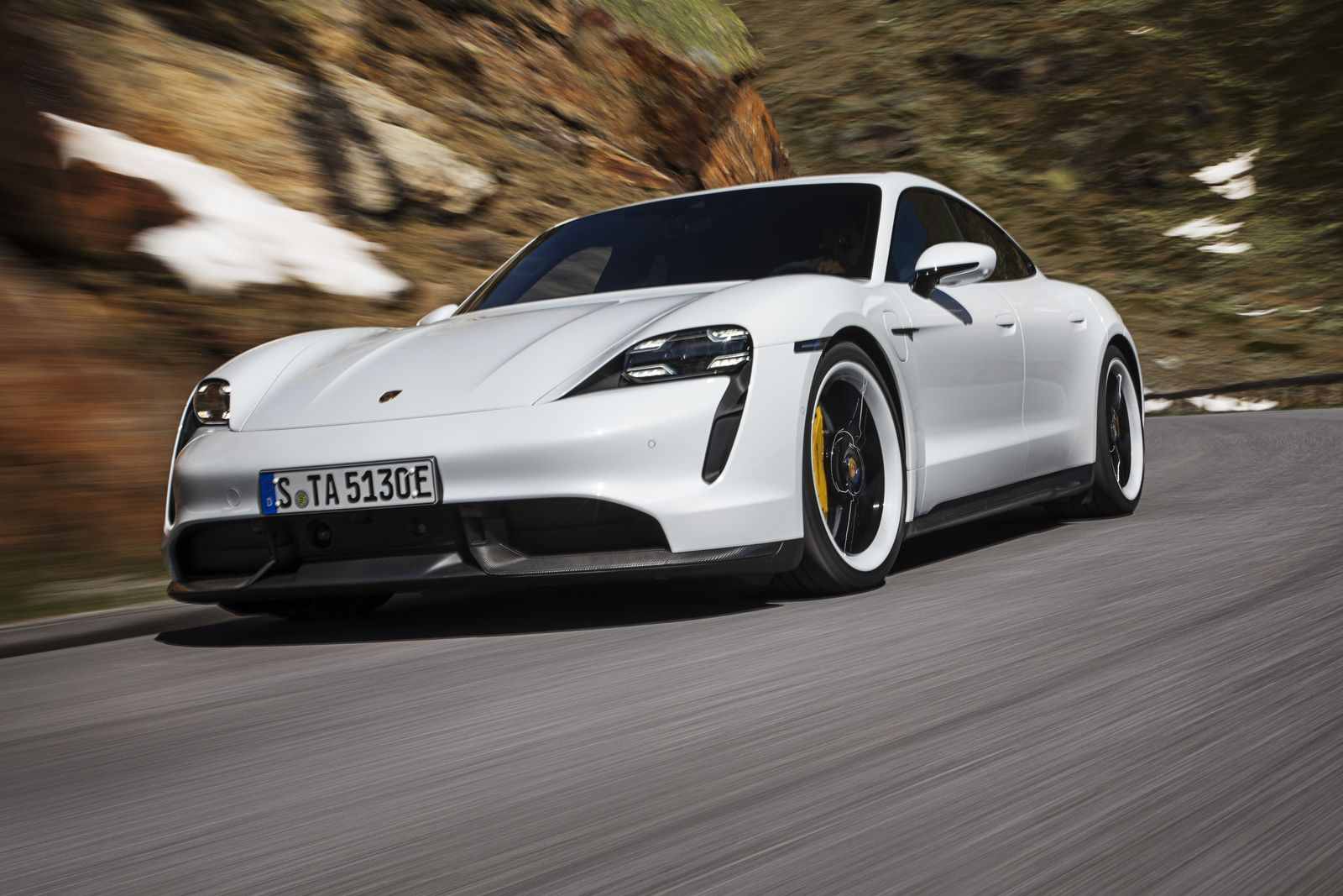 The 2020 Porsche Taycan Turbo S Is A 750 Hp Electric Super Sedan Porsche Taycan Electric Sports Car Porsche