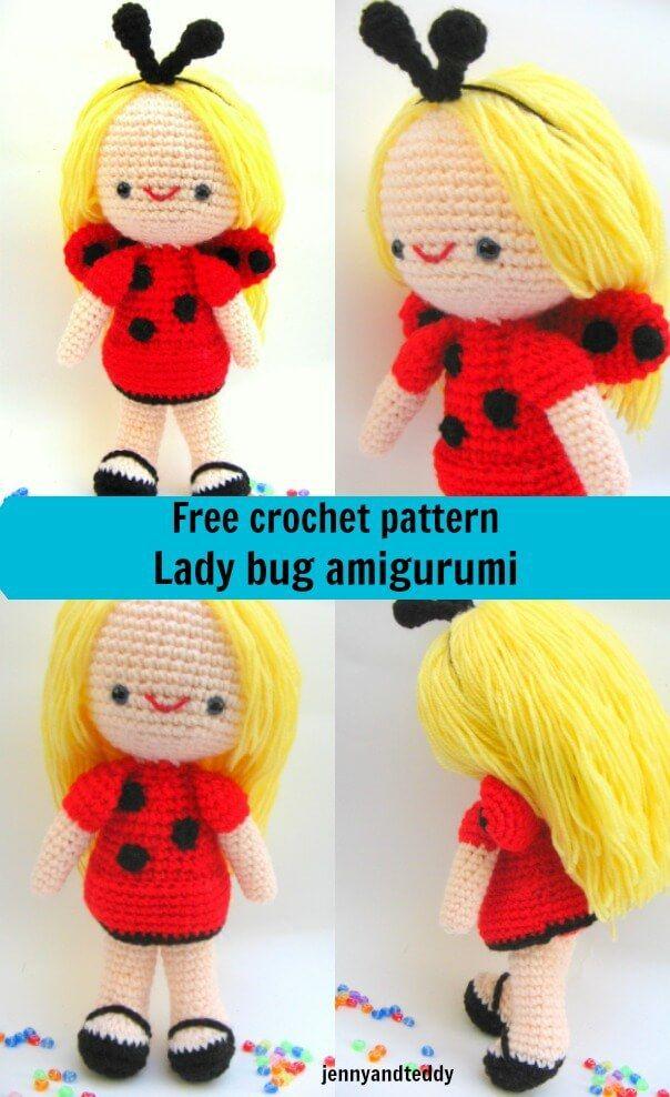 Free Amigurumi Crochet Pattern Ladybug Projects To Try Crochet