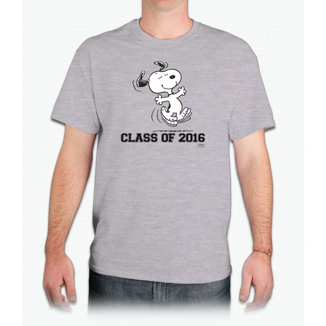 Dancing Snoopy Graduate 2 Charlie Brown Ultra Cotton™ T-Shirt