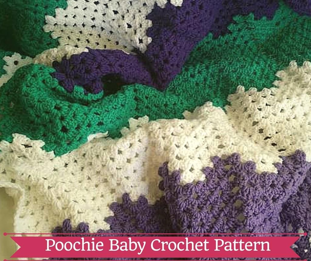 Looking for your next project? You're going to love Sweet Dreams Baby Blanket by designer Poochie Baby.
