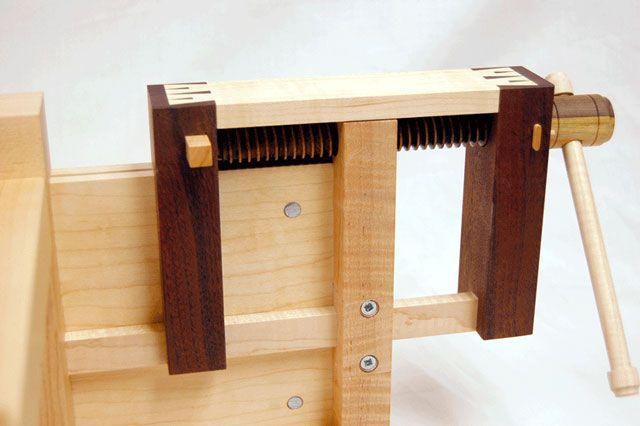 Lake Erie Toolworks Wooden Vise Scandinavian Workbench