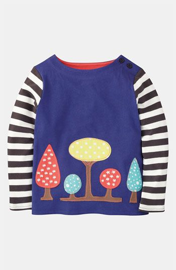 Mini Boden 'Storybook' Appliqué Tee (Toddler, Little Girls & Big Girls) available at #Nordstrom