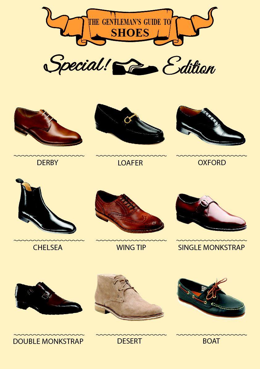 Los 9 pares de #zapatos que todo #hombre debe tener | Moda